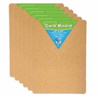Flipside FLP10082-6 Cork Bulletin Board, 12 x 18 in. - 6 Each