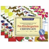 Pre-Kindergarten Certificate, 8.5  x 11 , 30 Per Pack, 3 Packs - 1