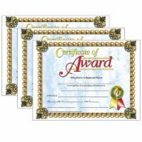Certificate of Award, 8.5  x 11 , 30 Per Pack, 3 Packs - 1
