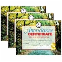 Attendance Certificate, 30 Per Pack, 3 Packs - 1