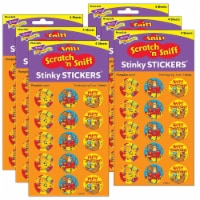Trend Enterprises T-83403-6 Stinky Stickers Thanksgiving Time Acid-Free Pumpkin, 60 Per Pack