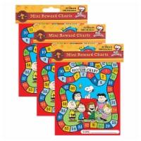 Peanuts® Game Mini Reward Charts with Stickers, 36 Charts Per Pack, 3 Packs - 1
