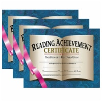 Reading Achievement Certificate, 30 Per Pack, 3 Packs - 1