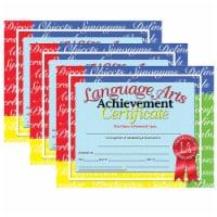 Language Arts Achievement Certificate, 30 Per Pack, 3 Packs - 1