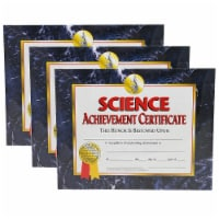 Science Achievement Certificate, 30 Per Pack, 3 Packs - 1