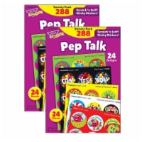 Pep Talk Stinky Stickers® Variety Pack, 288 Count Per Pack, 2 Packs - 1