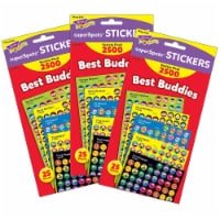 Trend Enterprises T-46919-3 Best Buddies Collection Superspots Stickers Variety Pack - Pack o