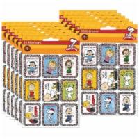 Eureka EU-655111-12 Stickers Peanuts Characters - Pack of 12