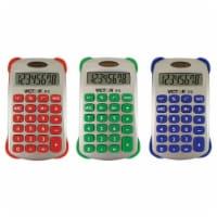 Colorful 8 Digit Handheld Calculator, Pack of 3 - 1