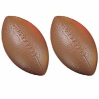 Coated High Density Foam Football, Pack of 2 - 1