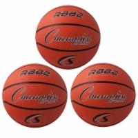 Champion Sports CHSRBB2-3 Champion Basketball - Official Junior Size - 3 Each