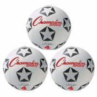 Champion Sports CHSSRB4-3 Champion Soccer Ball - No 4 - 3 Each - 1