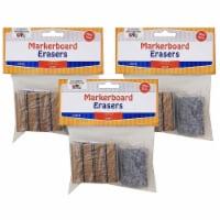 Mini Markerboard Erasers, 5 Per Pack, 3 Packs - 1
