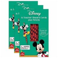 Mickey® Pencil Rewards with Toppers, 16 Per Pack, 3 Packs - 1