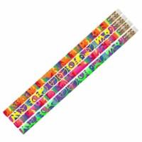 Peace Motivational Pencils, 12 Per Pack, 12 Packs - 1