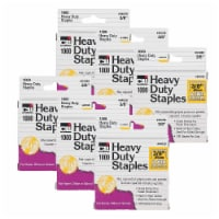 Heavy Duty Staples, 3/8 , 1000 Per Pack, 6 Packs - 1