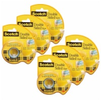 Removable Double Sided Tape, 3/4  x 200 , 6 Rolls - 1