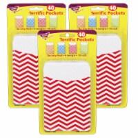 Looking Sharp Terrific Pockets™ Variety Pack, 40 Per Pack, 3 Packs - 1