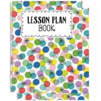 Color Pop Lesson Plan Book, Pack of 2 - 1