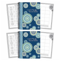 Blue Harmony Lesson Plan & Record Book, Pack of 2 - 1