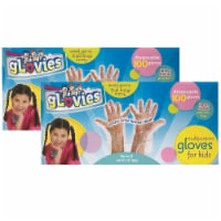 Multipurpose Disposable Gloves, 100 Per Box, Pack of 2 - 1