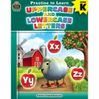 Practice to Learn: Uppercase and Lowercase Letters Book, Grade K, Pack of 6 - 1