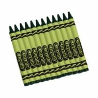 Bulk Crayons, Green, Regular Size, 12 Per Box, 12 Boxes - 1