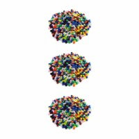 Dixon Ticonderoga CK-3552-3 Bright Hues Pony Beads - 3 Each - 1