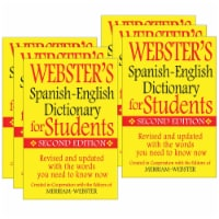 Webster's Second Edition Spanish-English Dictionary for Students - 6 pk