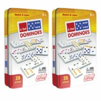 Junior Learning JRL484-2 Dot Dominoes - 2 Each