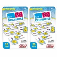Junior Learning JRL486-2 Time Dominoes - 2 Each