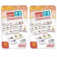 Junior Learning JRL490-2 Rhyming Words Dominoes - 2 Each