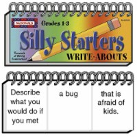 Silly Starters Write-Abouts, Grade 1-3, Pack of 2 - 1