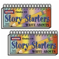 Story Starters Write-Abouts, Grade 4-8, Pack of 2 - 1