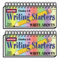 Writing Starters Write-Abouts, Grade 4-8, Pack of 2 - 1