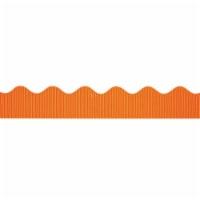 Decorative Border, Orange, 2-1/4  x 50', 6 Rolls - 1