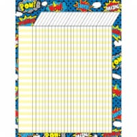 Superhero Incentive Chart, Pack of 6 - 1