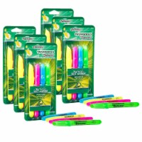 Emphasis™ Highlighters, Desk Style, Chisel Tip, 4 Assorted Colors, 6 Packs - 1