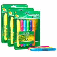 Emphasis™ Highlighters, Desk Style, Chisel Tip, 6 Assorted Colors, 3 Packs - 1