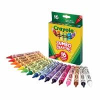 Crayola BIN520390-3 Jumbo Crayons, 16 Color Set - Set of 3