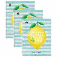 Lemon Zest Record Book, Pack of 3 - 1