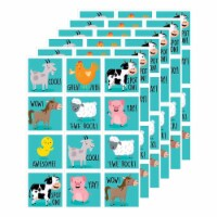 Farm Friends Reward Stickers, 60 Per Pack, 6 Packs - 1