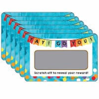 Yay! Go You! Scratch Off Awards & Certificates, 30 Per Pack, 6 Packs - 1