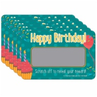 Happy Birthday! Scratch Off Awards & Certificates, 30 Per Pack, 6 Packs - 1