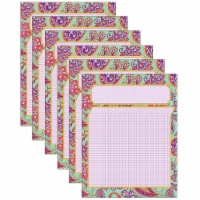 Positively Paisley Incentive Chart, 17  x 22 , Pack of 6 - 1