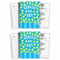 Always Try Your Zest Lesson Plan Book, Pack of 2 - 1