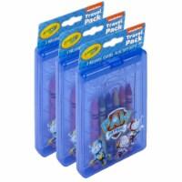Crayola BIN40393-3 Crayola Paw Patrol Travel Pack - 3 per Pack