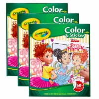Color & Sticker Book, Fancy Nancy, Pack of 3 - 1