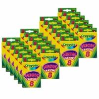 Crayola BIN523418-24 Crayola Neon Crayons - 8 Count - Pack of 24 - 1