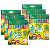 Silly Scents Mini Twistables Scented Crayons, 12 Per Pack, 6 Packs